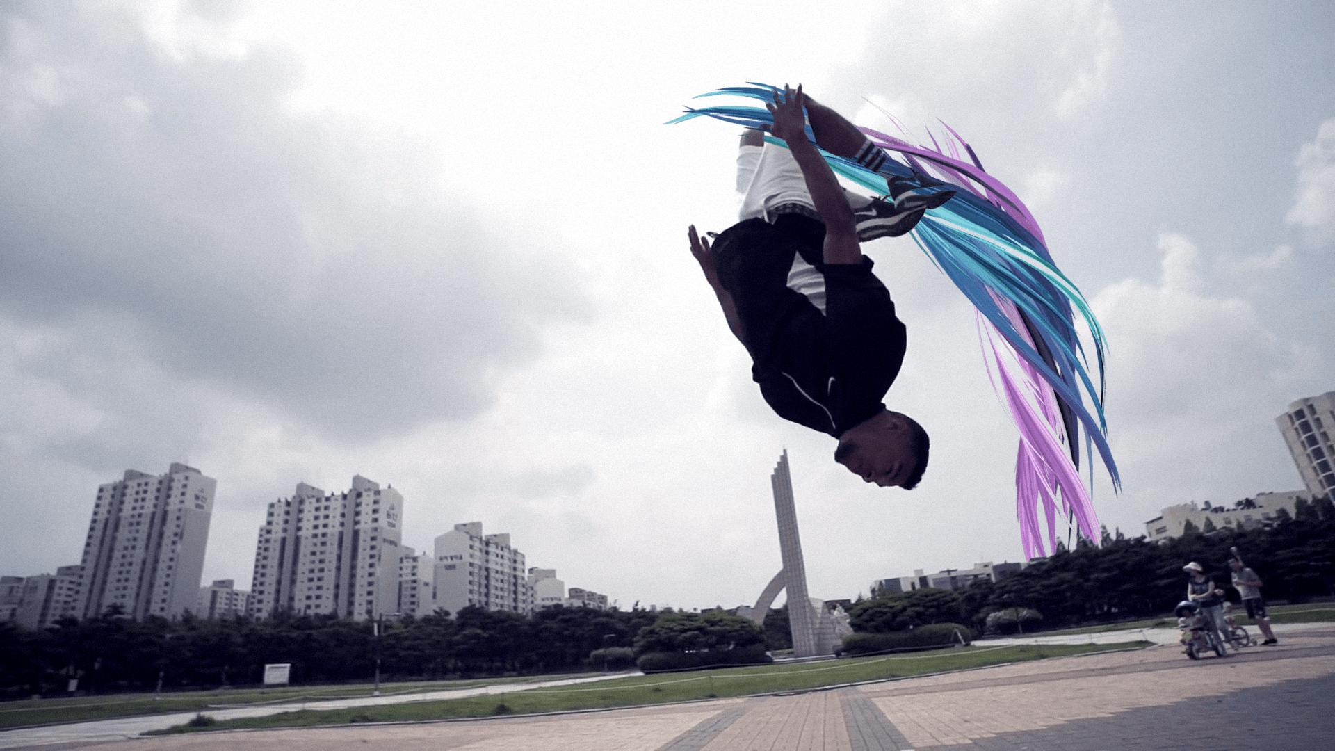 Štýl v pohybe breakdance